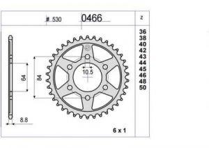 CORONA PROF. SUZUKI GT 380/550 42 D mod 0466