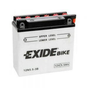 12N5,5-3B Batería moto EXIDE