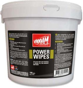 VROOAM Toallitas limpieza de taller Power Wipes 100 uds