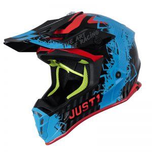 JUST1 J38 MASK BLUE RED BLACK