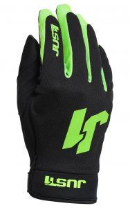 Just1 Gloves J-FLEX Black-fluo green
