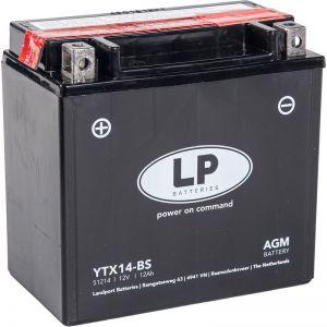 YTX14-BS AGM Bateria Landport premium