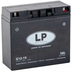 12V/21Ah Gel black Bateria Landport premium