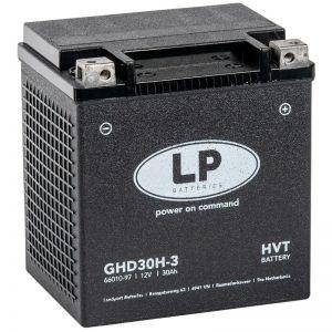 Batería Especial Harley GHD30H-3 (GHD30HL-BS) Gel Bateria Landport premium
