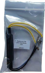 Resitencia 27W para Intermitente LED