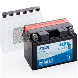 ETZ14-BS Batería moto EXIDE