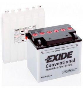 E60-N24L-A Batería moto EXIDE