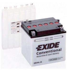 EB30L-B Batería moto EXIDE