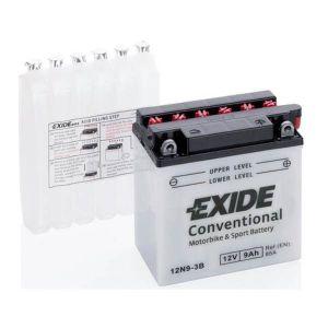 12N9-3B Batería moto EXIDE