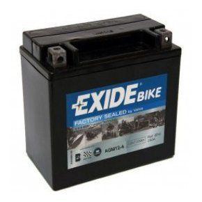 AGM12-4 Batería moto EXIDE