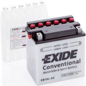 EB10L-A2  Batería moto EXIDE