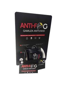 50 gamuzas antivaho + Expositor GRATIS
