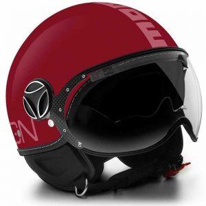 LIQUIDACION Casco Momo Design FGTR EVO RED/LIGHT PINK