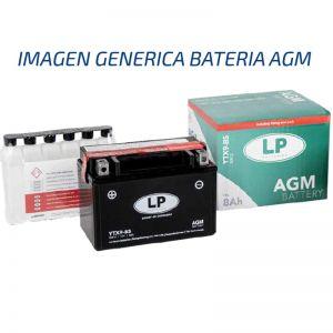 YTZ12S-BS AGM Bateria Landport premium