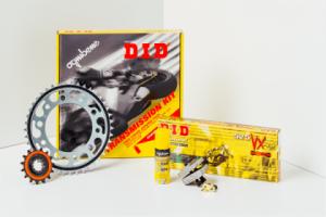 Kit cadena DID Suzuki RG 125 F Gamma 125cc 93-00(16-46-132)