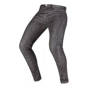 Pantalon de moto con protecciones Invictus Wayne Mujer Negro