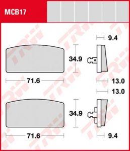 Pastillas De Freno Trw Bmw R60-75-80-90-100-80