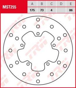 Disco de freno fijo TRW  MST255