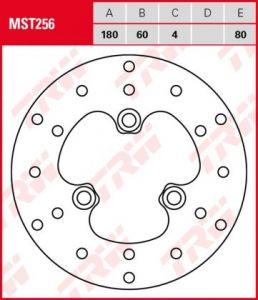 Disco de freno fijo TRW  MST256
