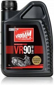 Garrafa de 20 litros VR-90 Series Aceite Motor 4T - 100% Sintético. Tecnología PAO-Ester 5W40