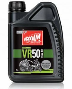 Bote 1 litro VR-50 Series Aceite Motor 4T - Sintético 15W50