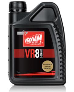 Bote 4 litros Bote 1 litro VR-8 Series (Aceite motor 2T - 100% Sintético. Tecnología Ester) Premix