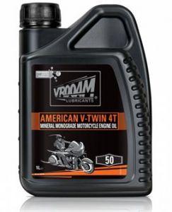 Bote de 4 litros Aceite mineral  Vrooam American V-Twin 20W50 4 Litros