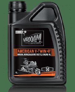 Bote 1 litro Aceite mineral  Vrooam American V-Twin 20W50 1 Litro
