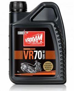 Bote 1 litro VR-70 Series Aceite Motor 4T - 100% Sintético Tecnología Multi Ester 10W40